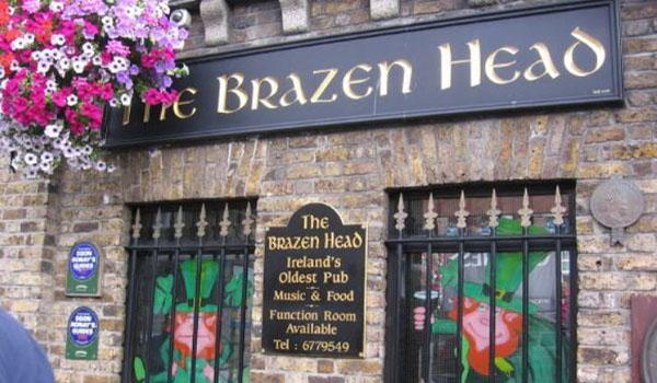 Brazen Head- Ireland's Oldest Pub Dating Back to the 1100s.
