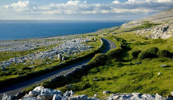 The Ancient Burren Region of County Clare - Often Described as a Moonscape with an Irish Flair