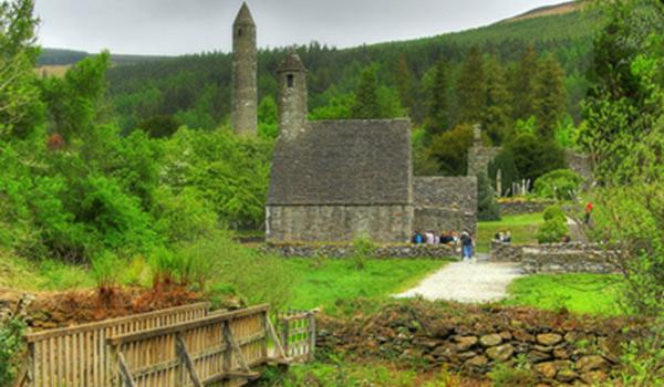 Glendalough, a 6th Century Monastic Site in County Wicklow - a Must See!