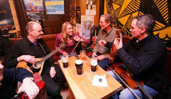 Enjoy Traditional Irish Music in one of Doolin's Famous Musical Pubs