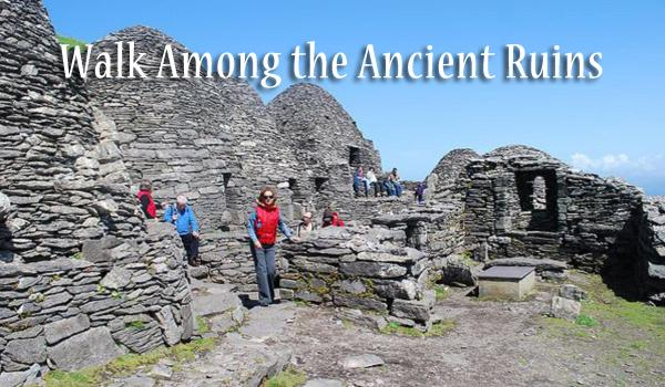 Ireland & Scotland have many ancient ruins older the the Egyptian Pyramids. We will advise you on the best ancient sites to visit.