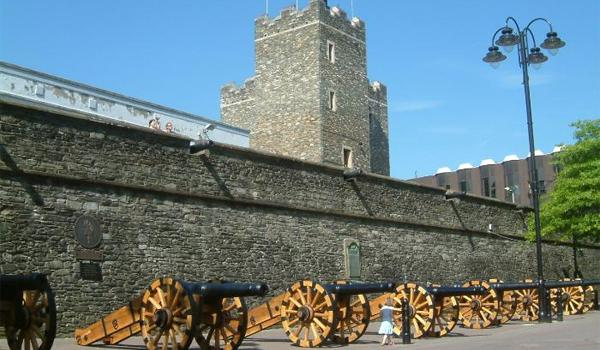 Medieval Walls Surround Derry City