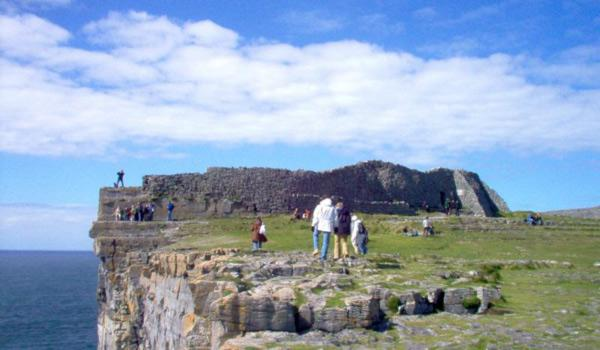 Dun Aengus - Thought to have been built in the 2nd Century. Located on the Aran Islands