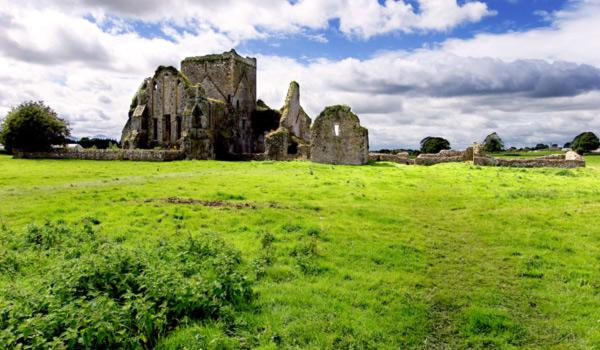 Fore Abbey - Near the Rock of Cashel, Tipperary