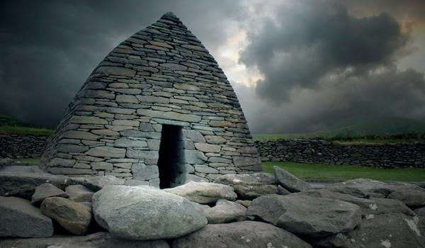 Gallarus Oratory - dating back from the 6th Century in Dingle