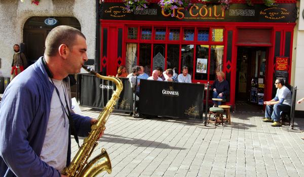 You will Always Find Music on the Streets of Galway