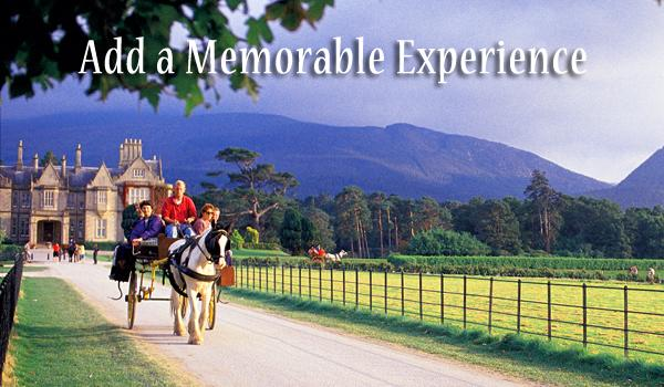 Create Memories with Our Unique Experiences. We are happy to suggest options for you such as horse & carriage rides, traditional music nights, kayaking, medieval banquet dinners & more!