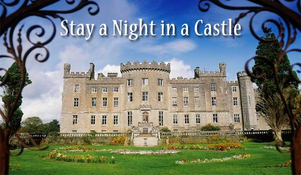 Stay a Night in an Authentic Irish Castle! We have many to choose from.
