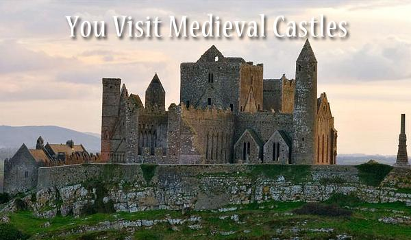 No visit to Ireland would be complete without a visit to one of the Medieval Castles that dot the countryside. We'll recommend the best castles to visit in each area you are staying.
