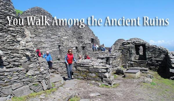 Ireland has many ancient ruins older the the Egyptian Pyramids. We will advise you on the best ancient sites to visit.