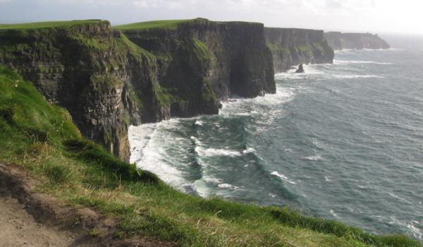 The famous Cliffs of Moher in County Clare