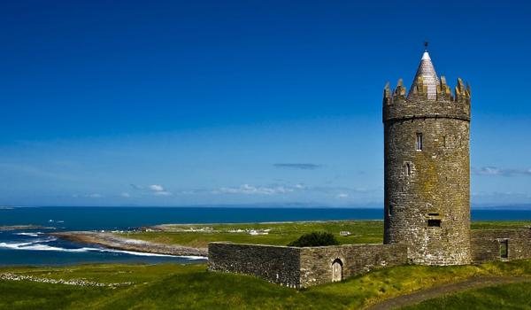 Doonagore Castle in Doolin