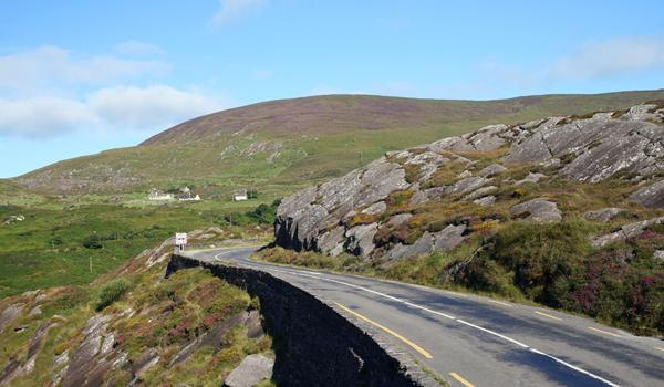 Irish Road in The Burren, County Clare