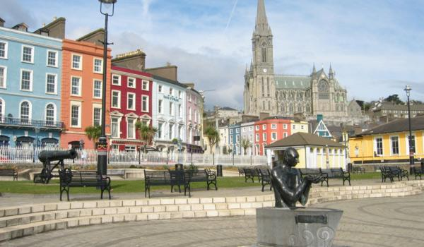 Nestled into County Cork is the lovely seaside town of Cobh