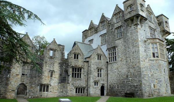 Donegal Castle, located in Donegal Town