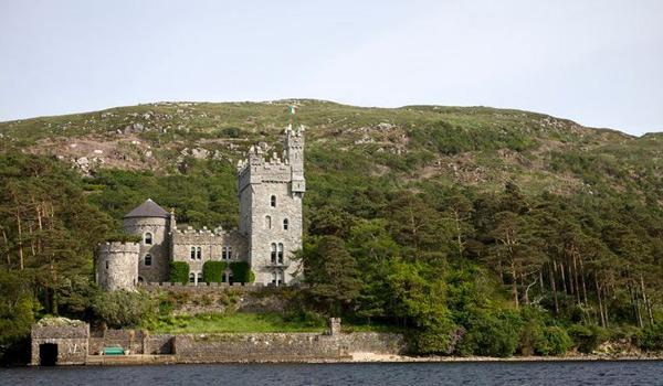 Glenveagh Castle in Glenveagh National Park, County Donegal