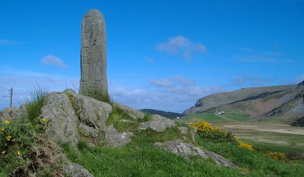 Glencolmcille - Ancient Standing Stone - County Donegal