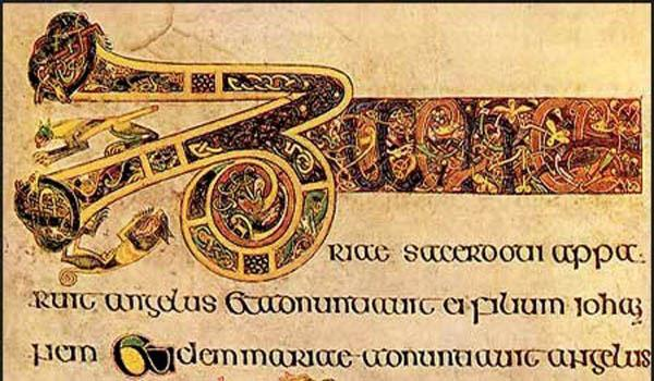 The stunning Book of Kells on display at Trinity College