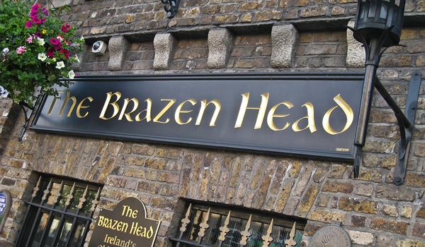 The Brazen Head - Irelands Oldest Pub - Established 1198