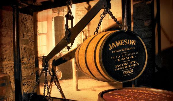 The Olde Jameson Distillery in Dublin