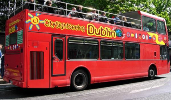 Open Top Sightseeing Bus - Dublin