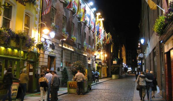 Enjoy the Cobbled Streets of Dublin