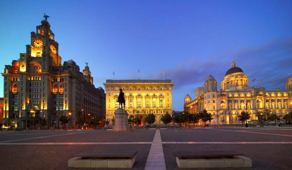 The Three Graces Buildings, Liverpool