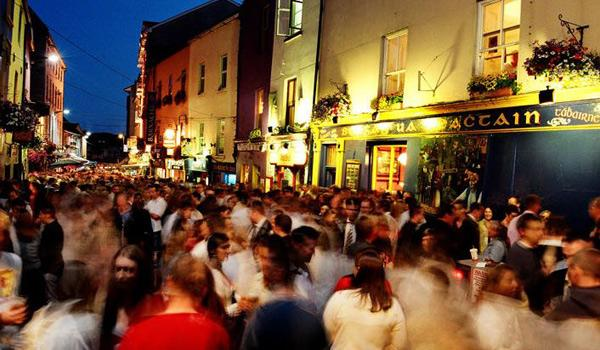 Bustling Galway City is a Colorful and Vibrant Delight.