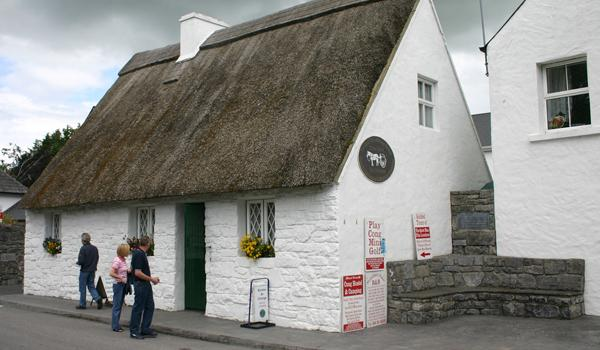 The Quiet Man Visitor Center in Cong Village