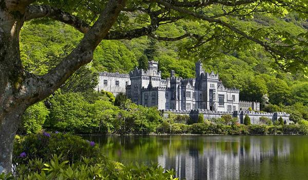 Kylemore Abbey in the heart of Connemara