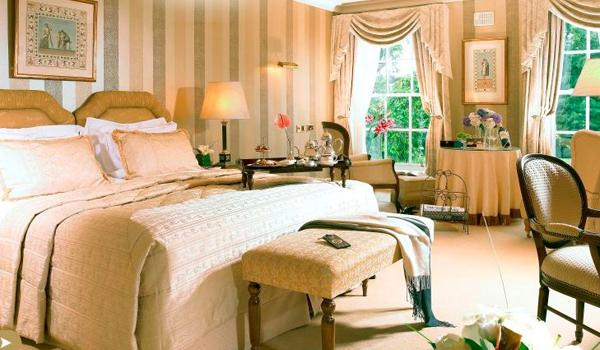 Hayfield Manor Bedroom:  Beautifully Apointed & Designed Luxury Rooms