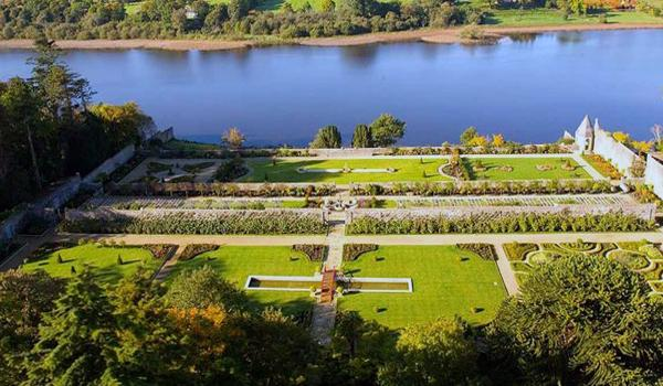 The Wonderful Gardens on the Lough Rynn Castle Estate