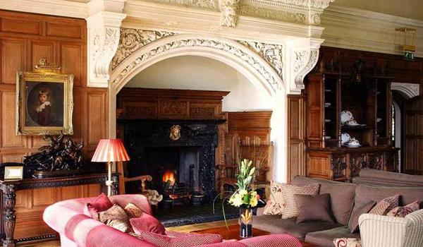 The Grand Fireplace at Lough Rynn Castle