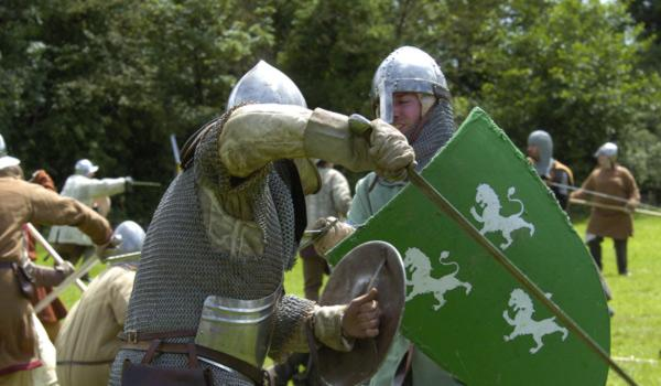Medieval Battle Re-enactment at Bunratty