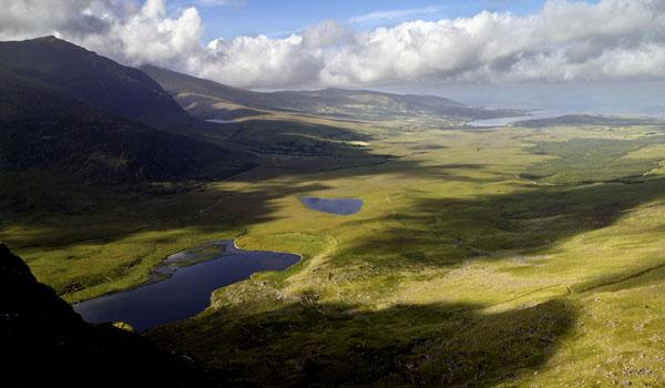Conor Pass on the Dingle Peninsula