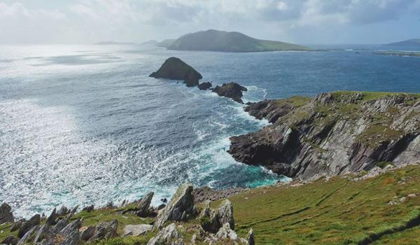 Breathtaking Coastal Scenery on the Dingle Peninsula.