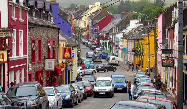 The Charming Main Street of Dingle Town