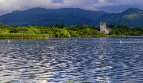 Ross Castle in Killarney National Park