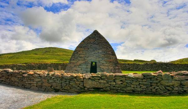 The 6th Century Gallarus Oratory on the Dingle Peninsula