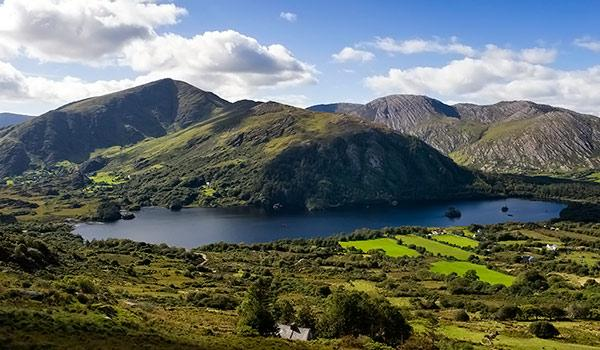 The stretch from Killarney to Kenmare is full of beauty and rolling green hills.