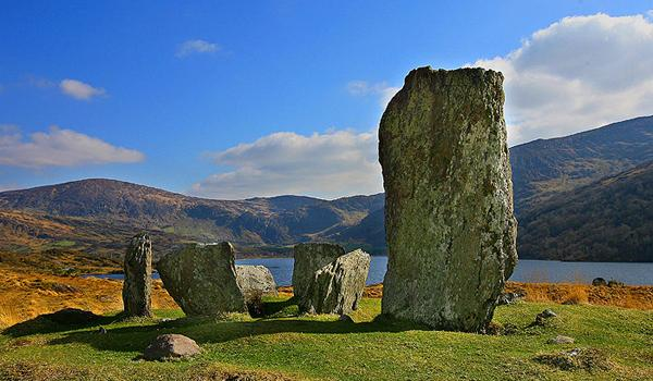 Lauragh Stone Circle - Near Killarney in County Kerry