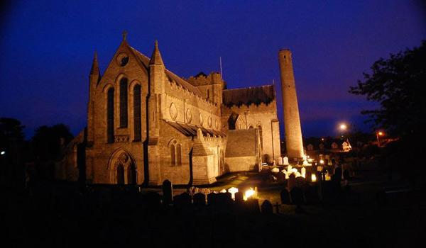 The Impressive St Canice's Cathedral in Kilkenny City.