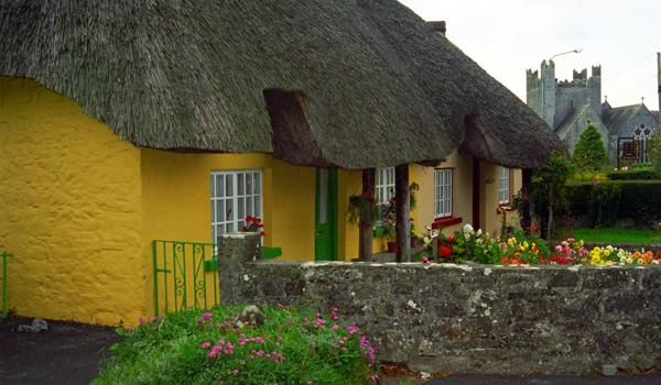 Thatched Cottages in Adare Heritage Village