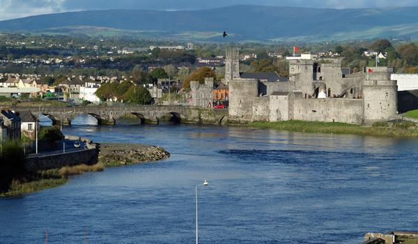 King Johns Castle in Limerick