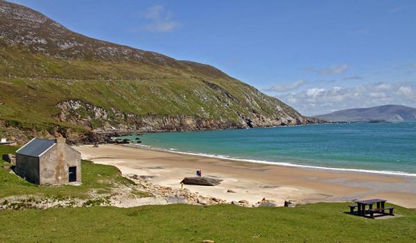 Keem Strand on Achill Island, County Mayo