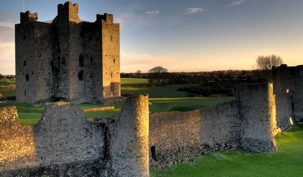 Imposing Trim Castle - Used in the Filming of 'Braveheart'.