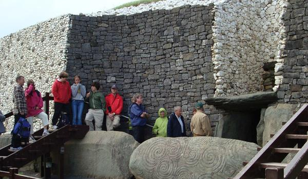 The mysterious tomb at Newgrange predates the Egyptian Pyramids.