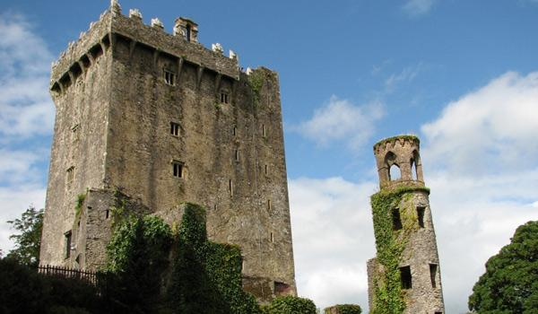 Blarney Castle - The Famous Stone is located at the top!