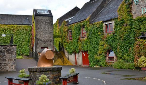 Exterior of Blair Atholl Distillery near Pitlochry