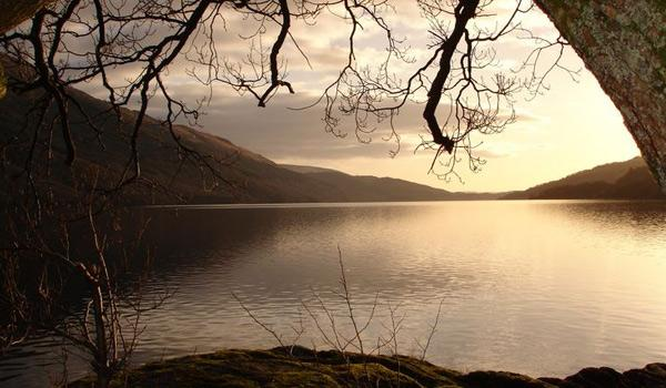 A mystical scene on Loch Lomond